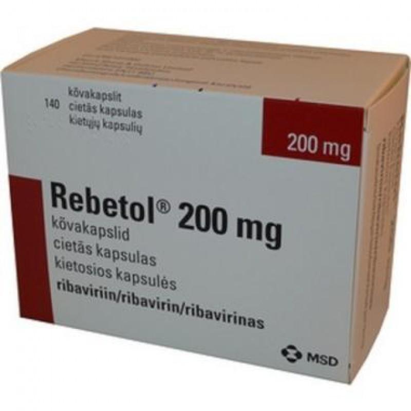Ребетол Rebetol 200MG/168 Шт