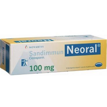 Купить Сандиммун Sandimmun Neoral 100MG/100 шт в Москве