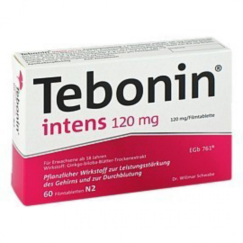 Тебонин Tebonin Intens 120MG 60 Шт.