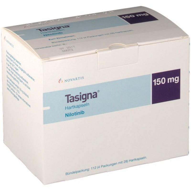 Тасигна Tasigna 150 мг/4X28 капсул