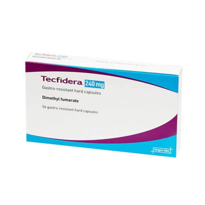 Текфидера Tecfidera (Диметилфумарат) 240 мг/ 56 капсул