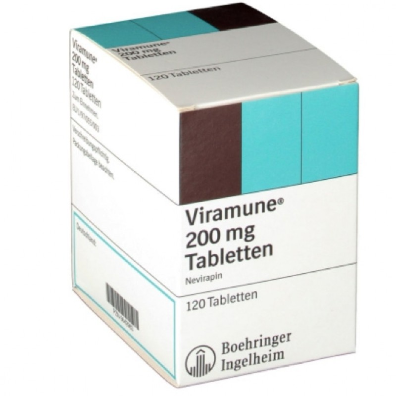 Вирамун Viramune 200MG/120 Шт