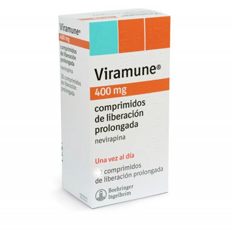 Вирамун Viramune 400MG/90 Шт