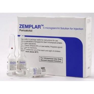 Купить Земплар Zemplar 5 MIKROGRAMM/ML 5X1 ml в Москве