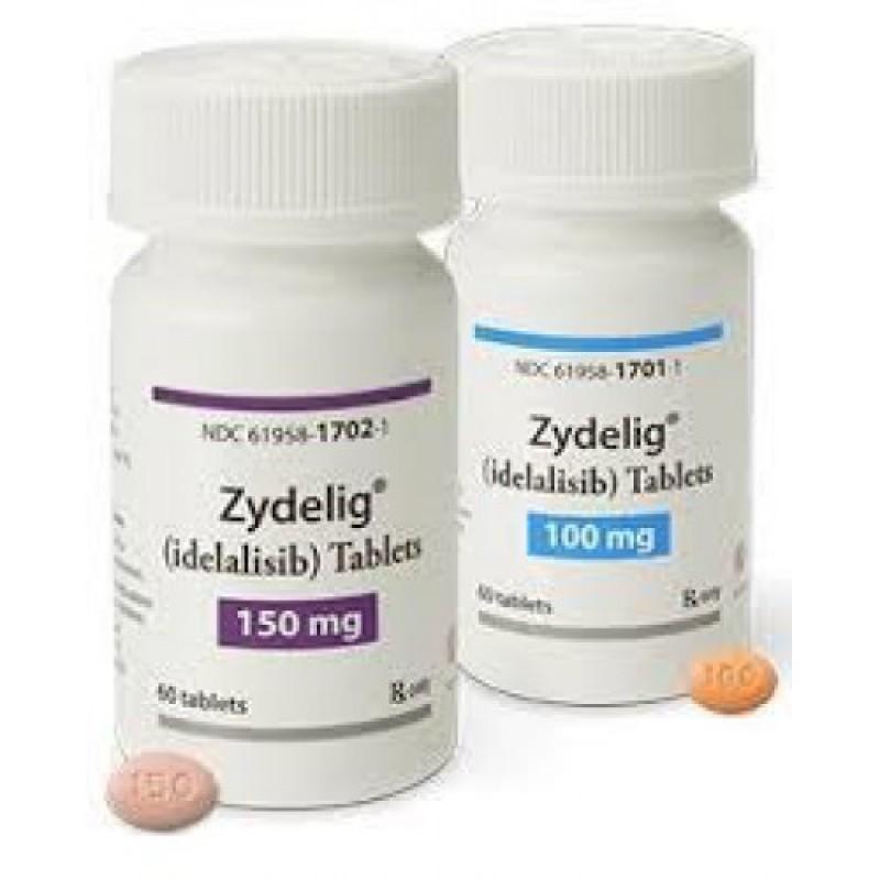 Иделалисиб Idelalisib (Зиделиг Zydelig) 100 мг/60 таблеток