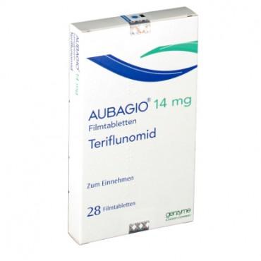 Купить Аубаджио Aubagio (Терифлуномид) 14 мг/28 таблеток в Москве