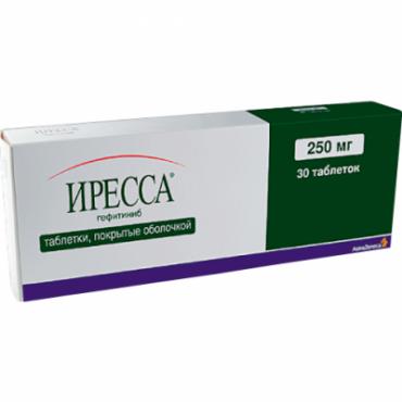 Купить Иресса Iressa 250 мг/30 таблеток в Москве