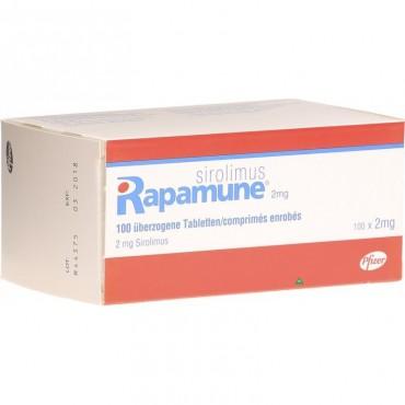 Купить Рапамун Rapamune (Sirolimus) 100X2MG в Москве