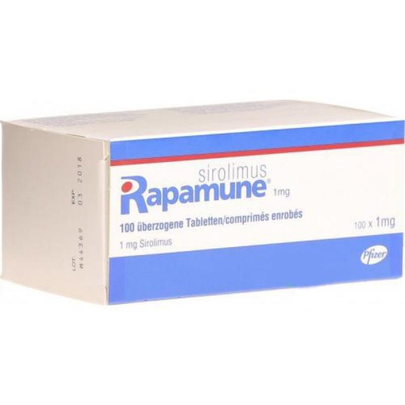 Рапамун Rapamune (Sirolimus) 100X1MG
