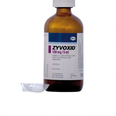 Купить Зивокс Zyvoxid суспензия 100мг/5мл в Москве
