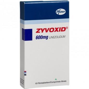 Купить Зивокс Zyvoxid 600 мг/10 таблеток в Москве